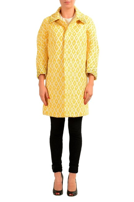 Item - Multi-color Two Button 3/4 Sleeve Women's Basic Coat Size 4 (S)