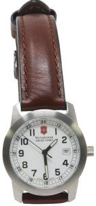 Victorinox Swiss Army Stainless Steel Water Resistant 100 Watch