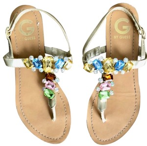 Guess multi colored Sandals