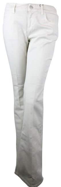 Item - Off White Women Dyed Washed Cotton Us 417283 9305 Flare Leg Jeans Size 30 (6, M)