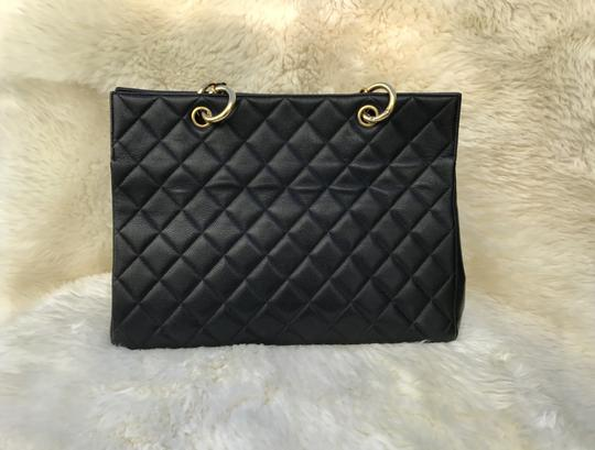 Chanel Boy Flap Maxi Medium Backpack Tote in Black Image 3