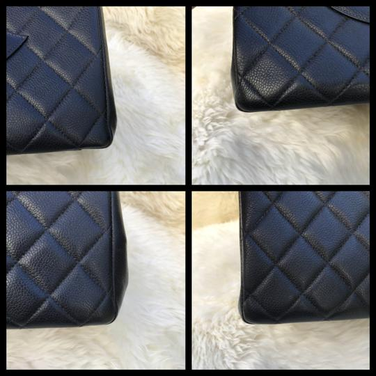 Chanel Boy Flap Maxi Medium Backpack Tote in Black Image 7