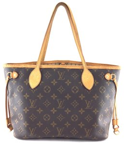 Louis Vuitton Monograme Neverfull Pm Tote in Brown