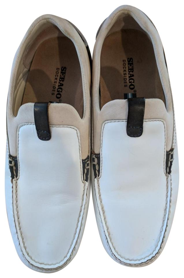 4fc734660570 White Navy Tan 8.5w Women s Cambria Performance Flats Size US 8.5 Regular  (M
