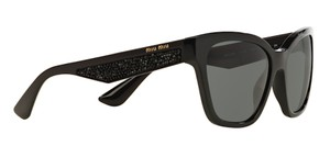 Miu Miu Free 3 Day Shipping New with Crystals SMU 06R-A 1AB1A1