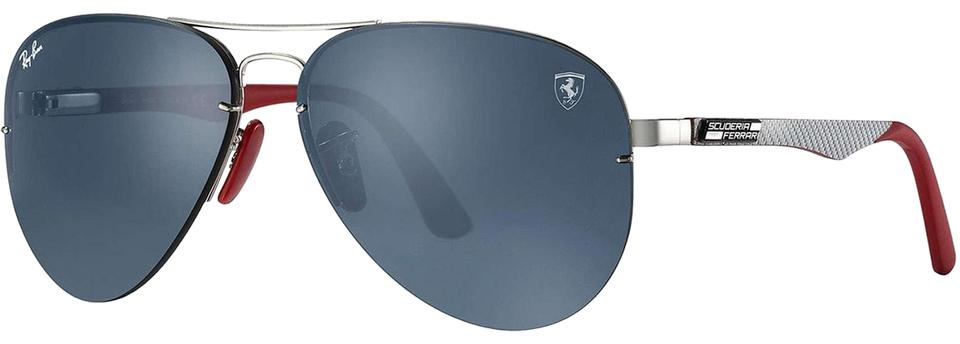 e25253318b Ray-Ban Blue Scuderia Ferrari Collection Rb3460m F01387 Sunglasses ...