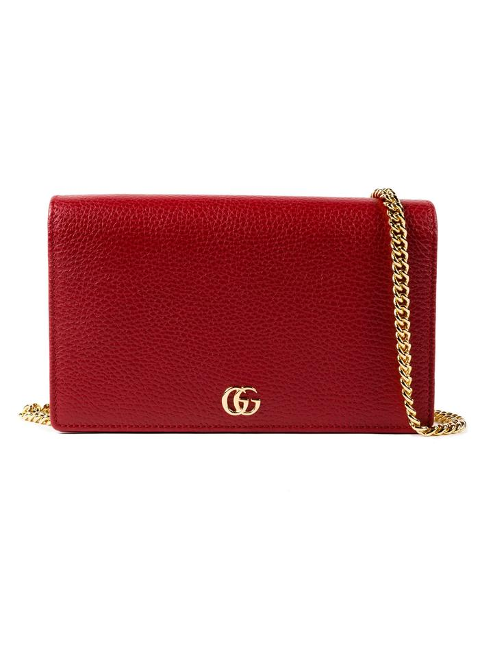 df166ba4433b Gucci Marmont Wallet On Chain Red | Stanford Center for Opportunity ...