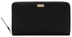 Kate Spade Kate Spade Talla Laurel Way Zip Around Travel Wallet Black