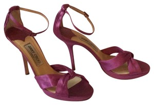 Jimmy Choo Magenta, purple Sandals