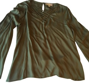 Pink Republic Top olive green