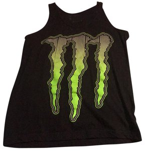 Monster Top black, green and white