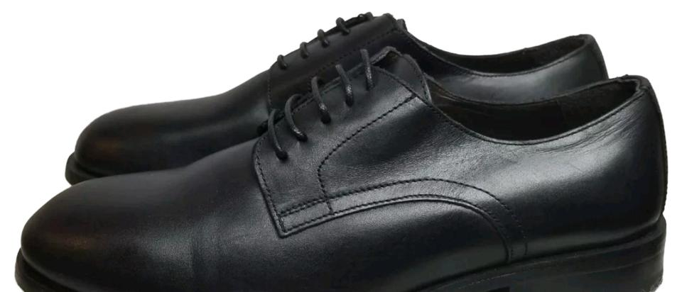 2c0868f031a Zara Black Man Leather Lace Oxford Formal Shoes Size US 8 Regular (M ...