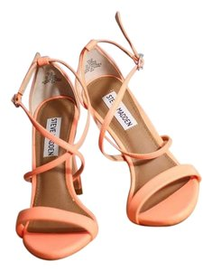 Steve Madden Neon Orange Pumps
