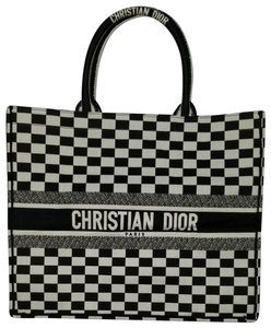 Dior Tote in Black and White