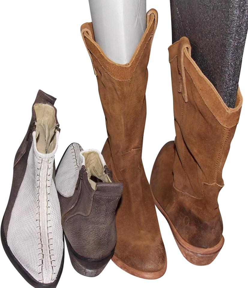 85e439cc1229 Free People 2 Pair Boots Booties Size EU 39 (Approx. US 9) Regular ...