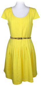 Ellen Tracy short dress Yellow on Tradesy
