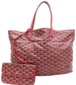 Goyard Saint Louis St. Louis Pm Tote in Red