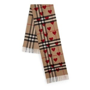 Burberry Classic Cashmere in Check and Hearts Sold Out Limited Edition 2017