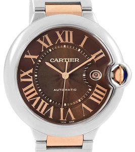Cartier Cartier Ballon Bleu Steel Rose Gold Chocolate Dial Unisex W6920032