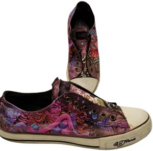062221240 Ed Hardy Multi Color Don Sneakers Size US 9 Regular (M, B) - Tradesy