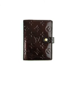 Louis Vuitton Agenda PM Vernis Monogram Patent Leather Notebook Planner Cover
