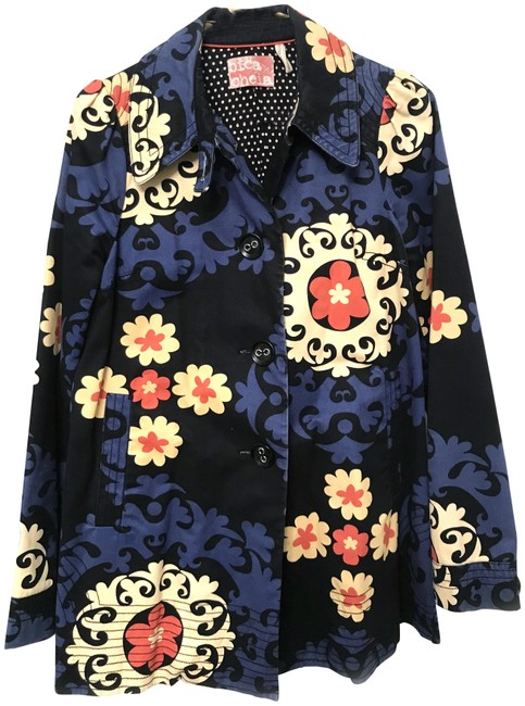 Item - Blue Black Coat Size 8 (M)