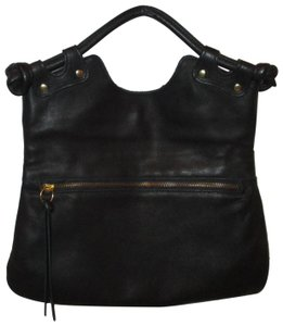 Pietro Alessandro Leather Clutch 003 Satchel in black