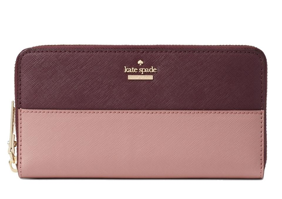 3adfb104d191 Kate Spade kate spade Cameron Street Lacey Dusty Peony Multi Leather Wallet  Image 0 ...