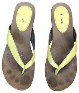 Style & Co Yellow Sandals