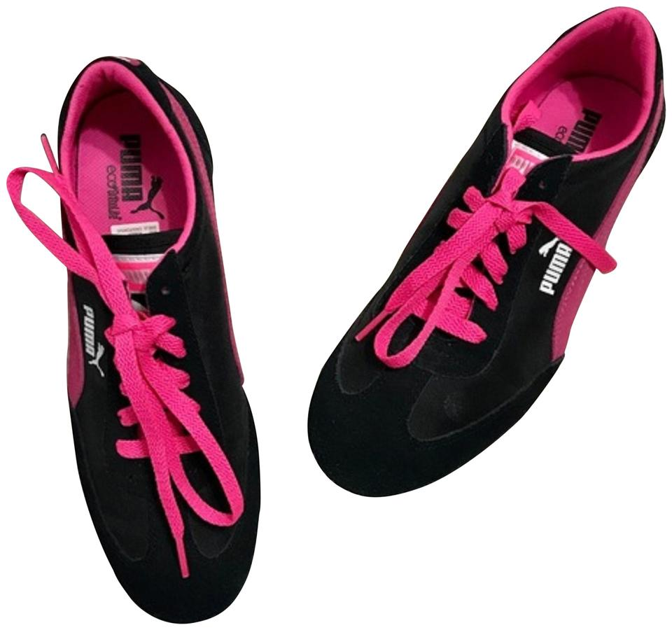 info for new design reputable site Puma Black/Pink Black/Pink Lace Nwob Sneakers Size US 5.5 Regular (M, B)