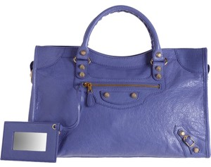 Balenciaga Satchel in purple mauve