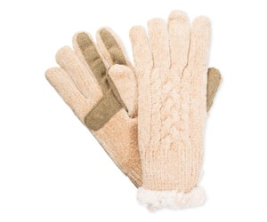 Isotoner Chenille SmarTouch Knit Gloves