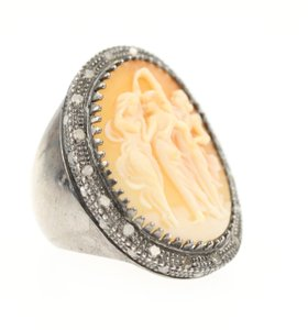 AMEDEO Amedeo 3 Graces Ring