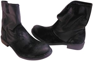 Sundance Ankle Leather Black Boots