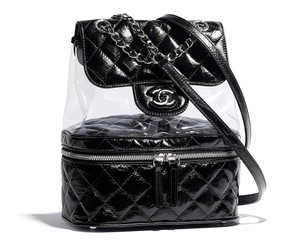 Chanel Pvc Calfskin Backpack