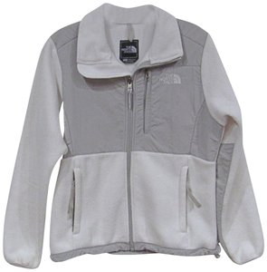 The North Face White, Gray Jacket