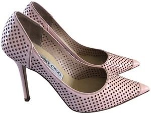 Jimmy Choo Pointed Toe Lychee pink Pumps