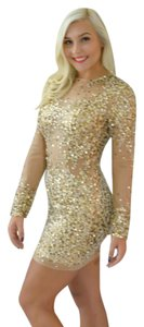P.R.I.M.A. Glitz by Kari Chang Longsleeve Sequin Prom Dress