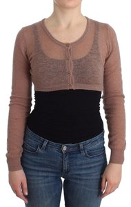 Ermanno Scervino D11870-1 Women's Lingerie Knit Crooped Sweater Cardigan