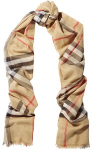 Burberry Burberry's signature check wool and silk scarf