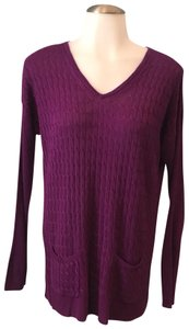 Belford Cable Knit Bamboo Tuni Cashmere Sweater