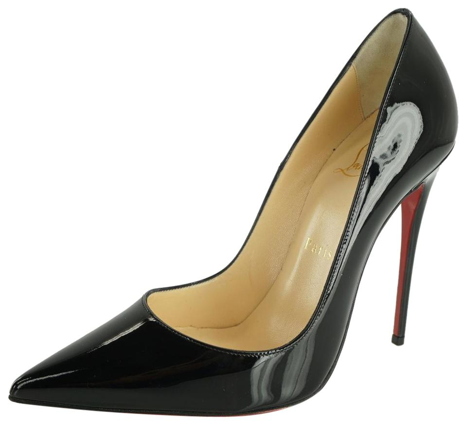 3f2336f64b Christian Louboutin Black Patent So Kate Classic Pointy Toe High Pumps. Size:  EU 37 (Approx. US 7) ...