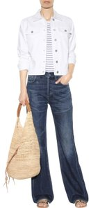 Citizens of Humanity High-rise Relaxed Button Fly Trouser/Wide Leg Jeans-Medium Wash