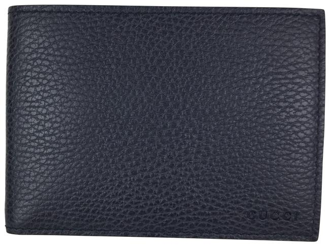 Gucci Navy Men's Leather Wallet Gucci Navy Men's Leather Wallet Image 1