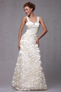 P.R.I.M.A. Glitz By Kari Chang 17-3152 Rosette Wedding Dress