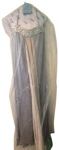 Marc Bouwer Silk Gown Vintage Strapless Glam Dress