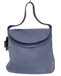 65aa71868160 Added to Shopping Bag. Prada Shoulder Bag. Prada Vitello Daino Flap Suede  Leather Hobo Sky Blue ...