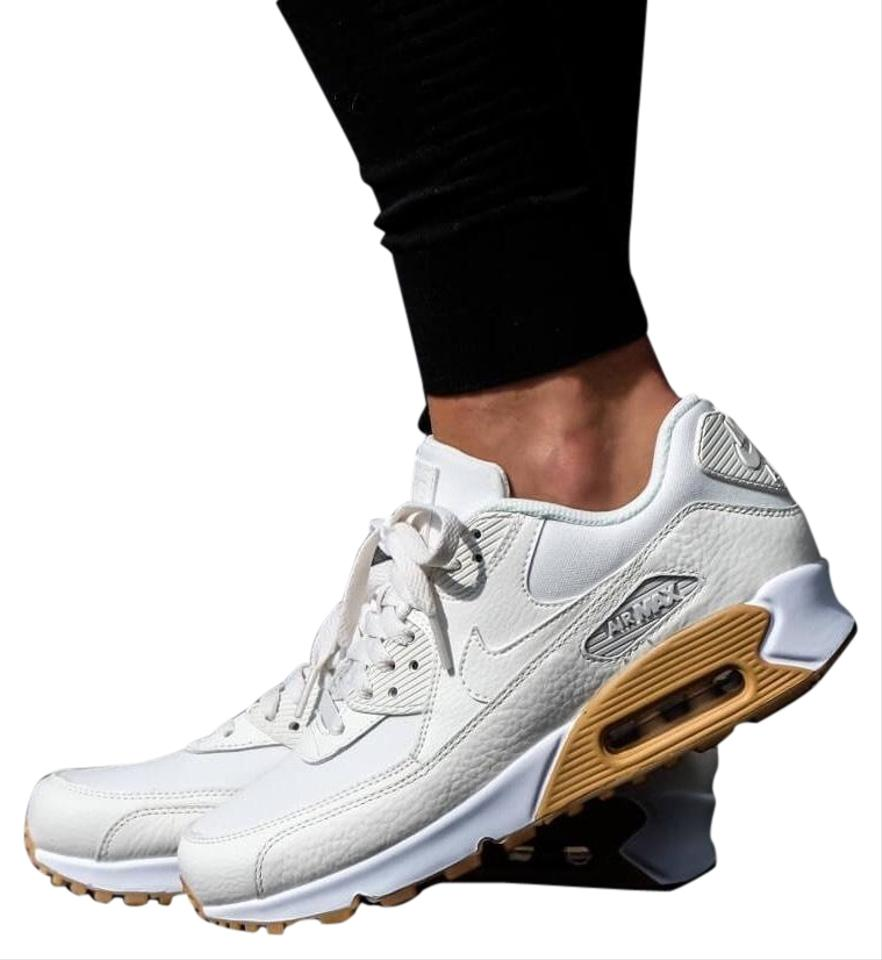 Nike White Women's Air Max 90 Sneakers Size US 8.5 Narrow (Aa, N) 48% off retail