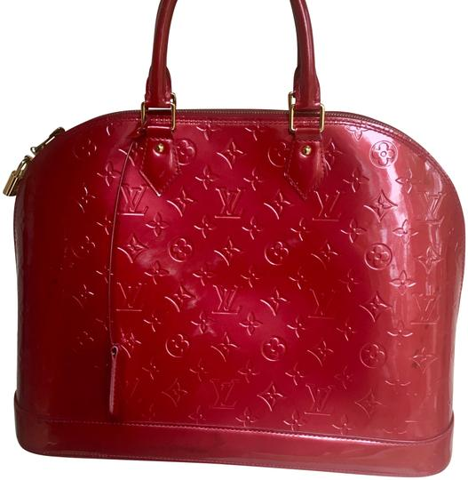 Louis Vuitton Satchel in red Image 0
