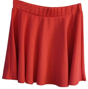 Body Central Mini Skirt Coral